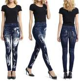 Kocome Women's Sexy Print Beautiful Girl Leggings Stretchy Jeggings Tight Pants