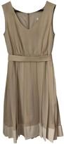 BEIGE La Mania Silk Dresses