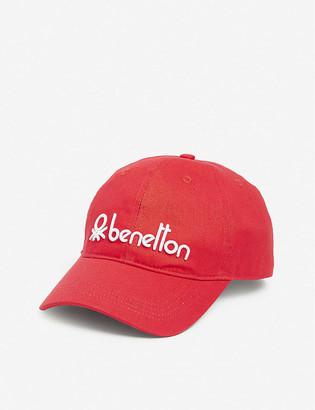Benetton Logo-embroidered cotton cap