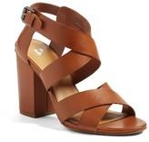 BP Women's Terry Block Heel Sandal