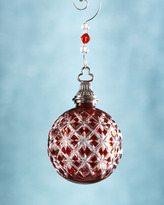 Waterford Annual Cased Ball Christmas Ornament