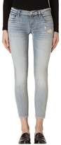 J Brand Low-Rise Cropped Skinny Jean In Remnant