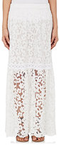 Temptation Positano Women's Orchidea Stretch-Lace & Crochet Maxi Skirt-WHITE