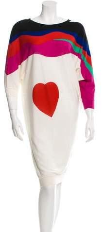 Alexander McQueen Wool Sweater Dress