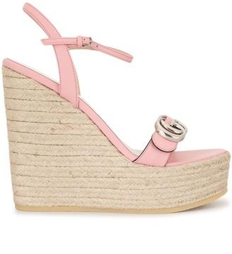 Gucci Double G espadrille sandals