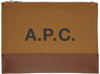 A.P.C. Brown Axelle Pouch