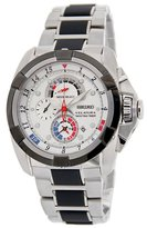 Seiko Men's Velatura Yachting Timer SPC005 Stainless-Steel Quartz Watch with Dial