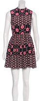 Sandro Silk Printed Dress