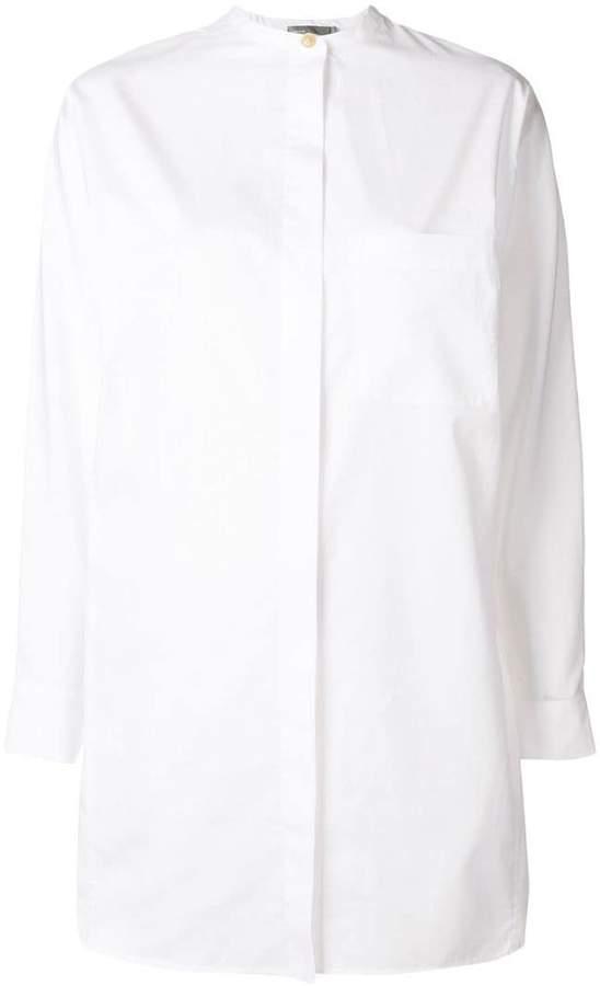 Vince collarless grandad shirt