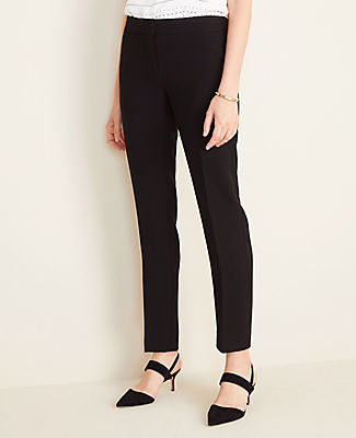 Ann Taylor The Petite Ankle Pant in Doubleweave