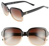 Tory Burch Women's 55Mm Sunglasses - Black