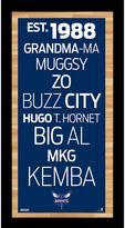 "Steiner Sports Charlotte Bobcats 19"" x 9.5"" Vintage Subway Sign"