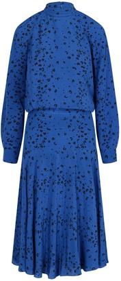 Kenzo Drop Waist Midi Dress