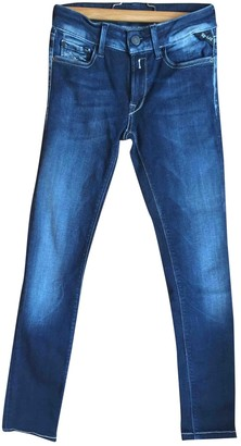 Replay \N Blue Cotton - elasthane Jeans