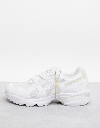 Asics SportStyle 1090 sneakers in white