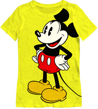 MC2 Saint Barth Mickey Mouse Print T-shirts For Women - Special Edition Disney