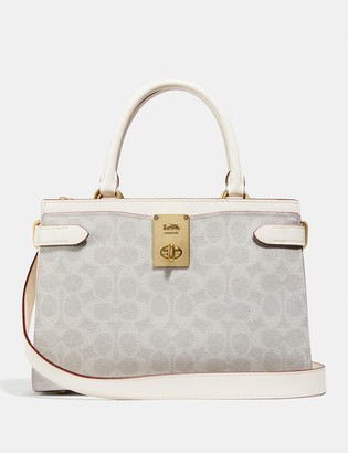 Coach Hutton Carryall In Signature Canvas