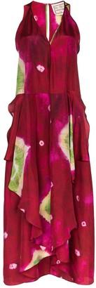 By Walid Janice tie-dye dress