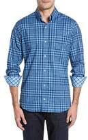 Tailorbyrd Men's Bayou Cone Check Sport Shirt