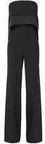 Exclusive for Intermix Margarita Off Shoulder Jumpsuit Black 2