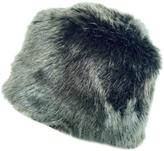 Grevi Grey Faux Fur Hat