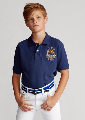 Ralph Lauren Polo Players Cotton Mesh Polo