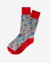 Express ornaments socks