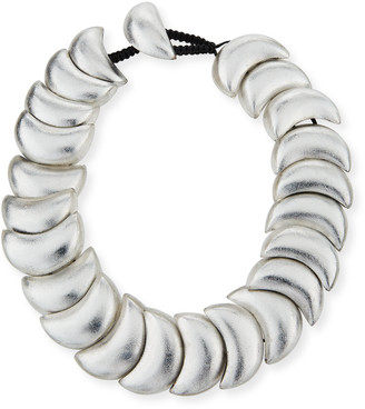Viktoria Hayman Swirl Statement Collar Necklace