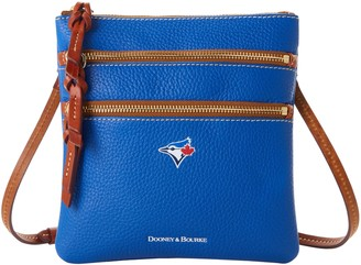 Dooney & Bourke MLB Blue Jays N S Triple Zip Crossbody