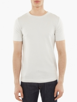 S.n.s. Herning Off-white Knitted Cotton T-shirt