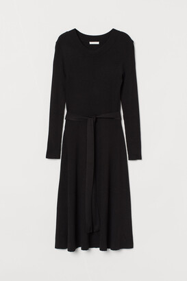 H&M Rib-knit dress