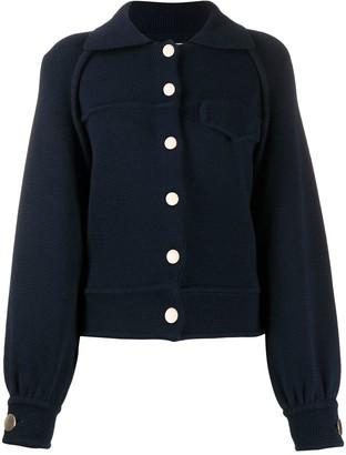 BA&SH Brut buttoned jacket