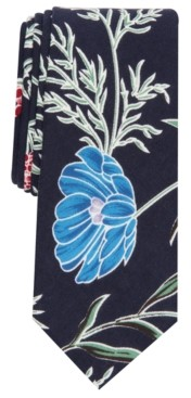 Bar III Men's Boxmere Skinny Floral Tie, Created for Macy's