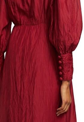 Sea Tessa Long-Sleeve Midi Dress