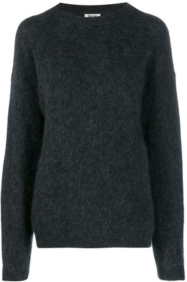 Acne Studios Dramatic Moh crew neck jumper
