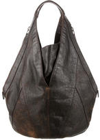 Givenchy Distressed Leather Tinhan Bag