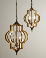 Regina-Andrew Design Pattern Makers Small Golden 3-Light Pendant
