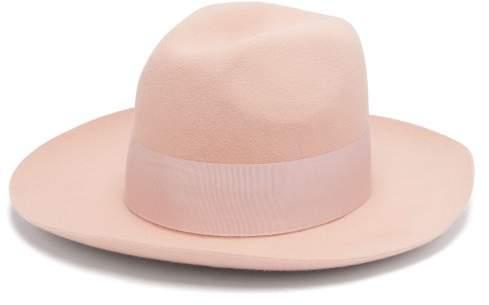 Federica Moretti Felt Hat - Womens - Pink
