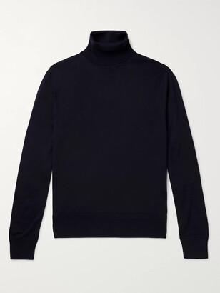 Tom Ford Melange Wool Rollneck Sweater