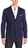 HUGO BOSS BOSS Orange Men's Benestretch5w Brushed Strutctured Cotton Blazer