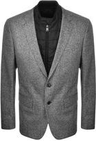 HUGO BOSS Hadwart 1 Blazer Jacket Grey