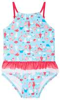 Cupid Girl Toddler Tea Party Skirted One Piece