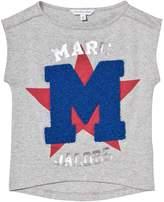 Little Marc Jacobs Grey Chenille M Branded T-Shirt