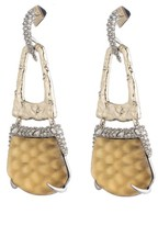 Alexis Bittar Women's Lucite Crystal Accent Drop Earrings
