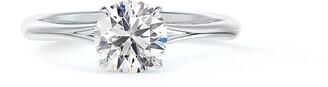 Forevermark Icon(TM) Setting Round Diamond Engagement Ring