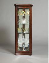 Pulaski Concave Corner Curio Cabinet