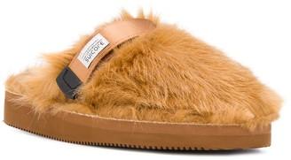 Suicoke Faux-Fur Slippers