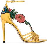 Gucci Ophelia embroidered sandals