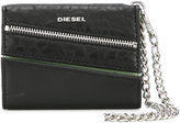 Diesel chain detail purse - women - Calf Leather - One Size