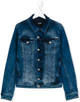 Diesel classic denim jacket - kids - Cotton/Polyester/Spandex/Elastane - 14 yrs
